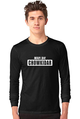 Mai-Bhi-Chowkidar-Black-Full-Sleeve