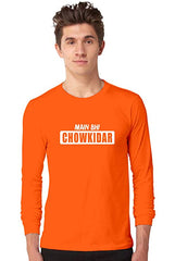 Mai-Bhi-Chowkidar-Orange-Full-Sleeve