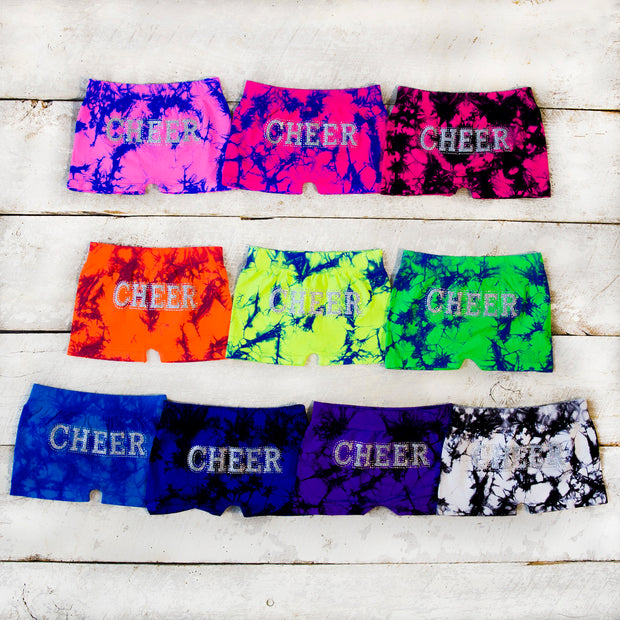 CHEER Tie Dye Boy Short