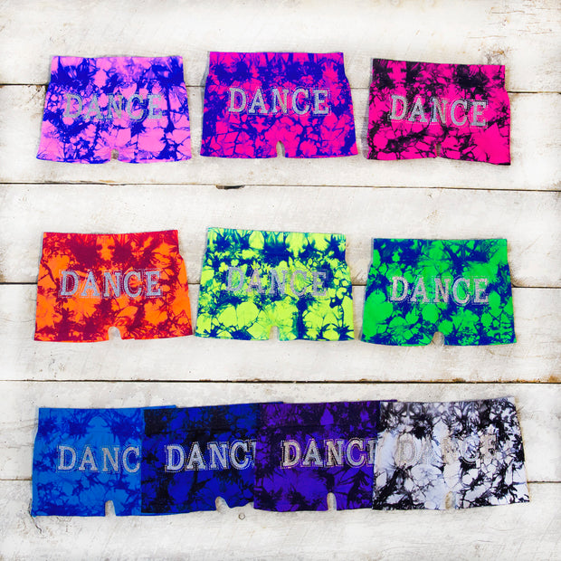 DANCE Tie Dye Boy Shorts for Junior