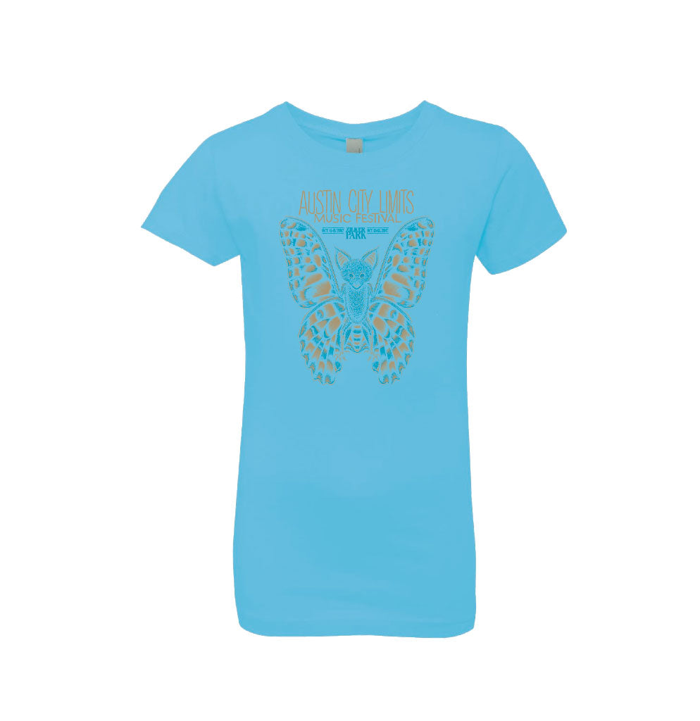 2017 Girl's Batterfly Lineup Tee - Only Small Left!