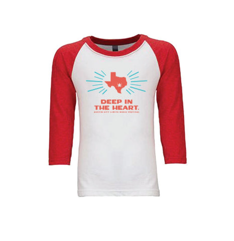 2017 Kid's Deep in the Heart Lineup Raglan