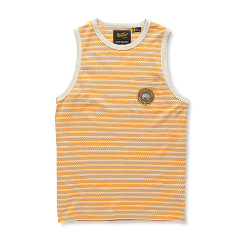 'Dillo Rose Striped Tank