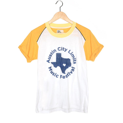Texas Love Rolled Sleeve Tee