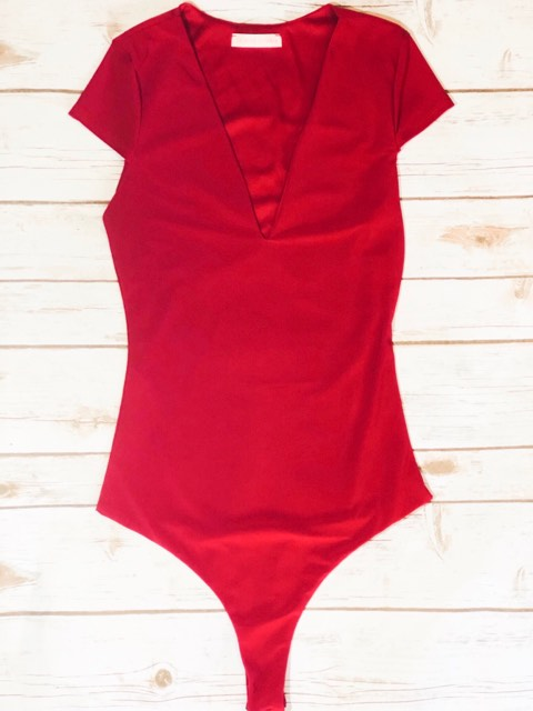 Chilli V-Neck Bodysuit