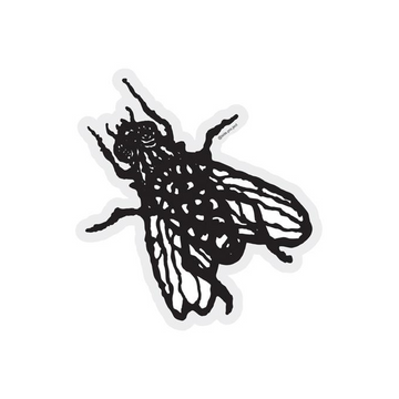 LARGE FLY STICKER