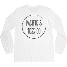 Load image into Gallery viewer, PACIFIC & MOSS L/S - FRONT & BACK LOGO