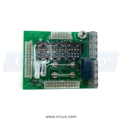 Milnor Board T/V/X Start Circuit - Test (08BHFRCT)