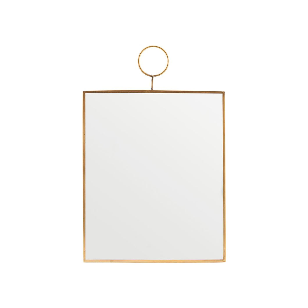 House Doctor Rectangular Loop Mirror from House Doctor