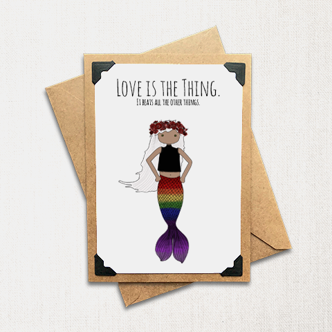 Love is the Thing Note Card