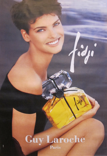 1991 Vintage Perfume Advertisement - Fidji - Guy Laroche