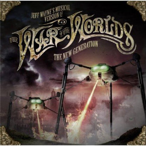 Jeff Waynes Musical Version Of The War Of The Worlds - The New Generation Sent Sameday* Audio CD