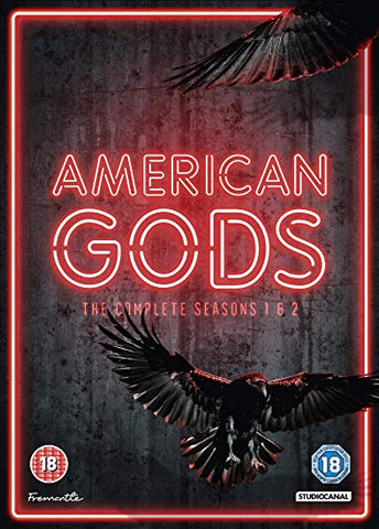 AMERICAN GODS S1 and 2 DVD