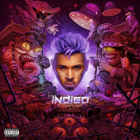 Chris Brown - Indigo Sent Sameday* AUDIO CD