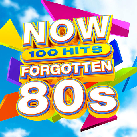 NOW 100 Hits Forgotten 80s - Level 42 Sent Sameday* AUDIO CD