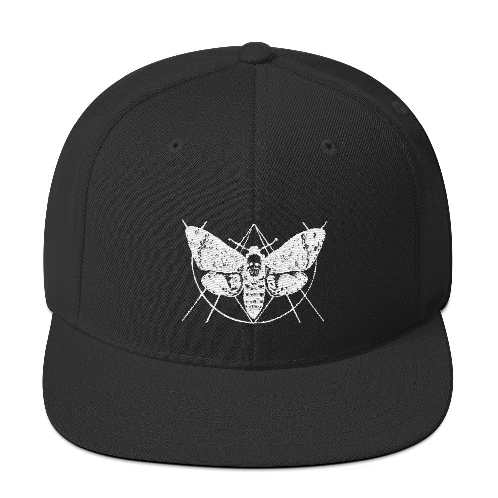 Deathmoth by Mitchell Tharp Snapback Hat