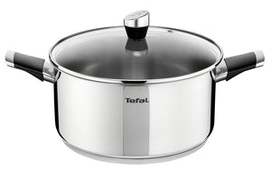 Tefal Emotion Stainless Steel Stew Pot 24cm E8234644