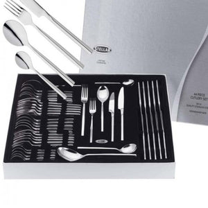 x2 Stellar Rochester Polished 44 Piece Cutlery Boxed Sets BL58, TWO SET OFFER! - Jacksons of Saintfield