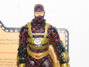 GI Joe JoeCon 2018 Python Patrol Laser Viper with Correct & Error Heads