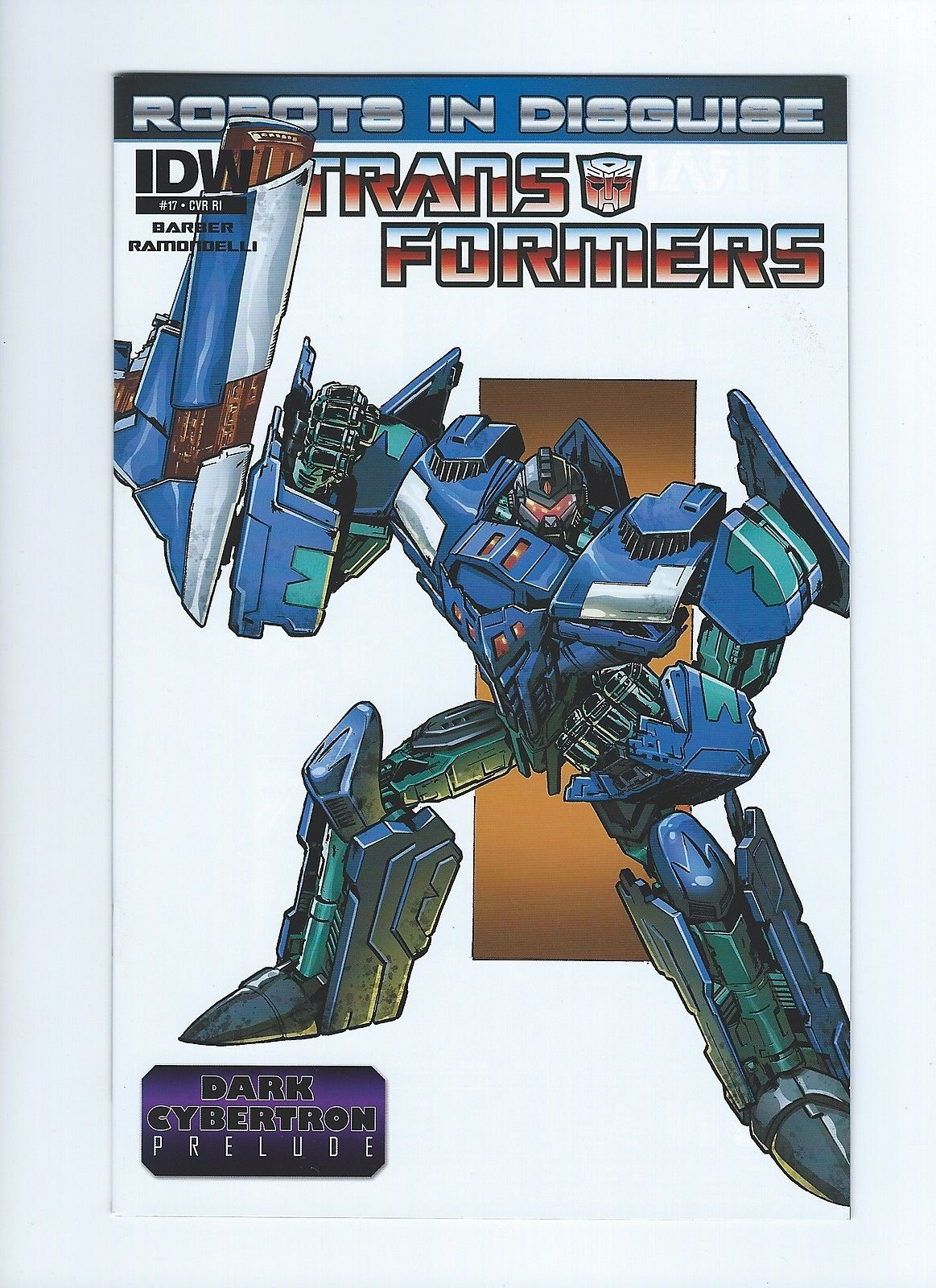 IDW Transformers Robots in Disguise #17 RI Phil Jimenez Dreadwing Retailer Incentive Variant