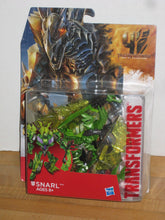 Load image into Gallery viewer, Transformers Age of Extinction Generations Deluxe Class Dinobot Snarl