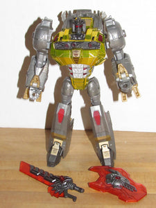 Transformers Platinum Edition Voyager Class Fall of Cybertron Grimlock