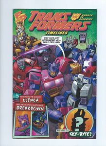Transformers Timelines #5 BotCon 2010 Exclusive Generation 2 Redux Comic