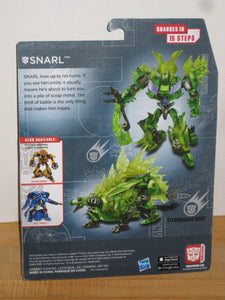 Transformers Age of Extinction Generations Deluxe Class Dinobot Snarl
