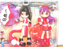 Load image into Gallery viewer, Pinky:St King of Fighters Mai Shiranui & Athena Asamiya Figurines 2-Pack