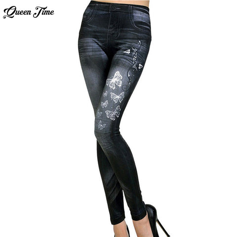 Classic Stretchy Slim Leggings - dealsonbox