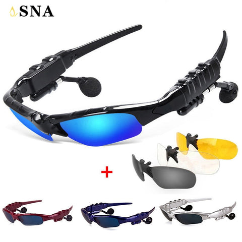 Smart Glasses Bluetooth Earphone Bluetooth Sunglasses Outdoor Sun Glasses Wireless Headphones Microphone for xiaomi xaomi Sony - dealsonbox