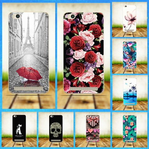 Xiaomi Redmi 5A Case Cover Soft Silicone Cases For Xiomi Xiaomi Redmi 5 A 5A A5 Cell Phone Case Covers Redmi 5A Redmi5A - dealsonbox
