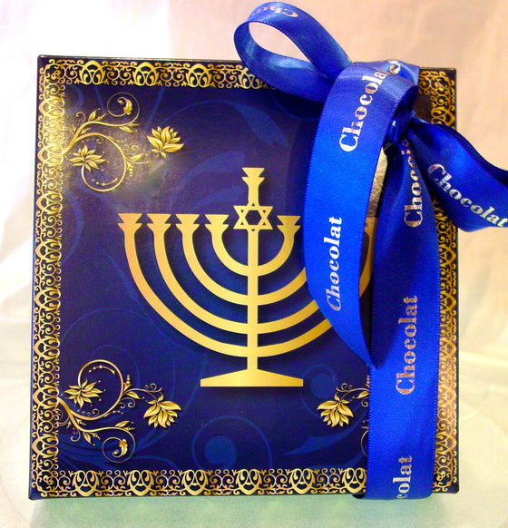 Hannukah Box presentation with Studio Collection