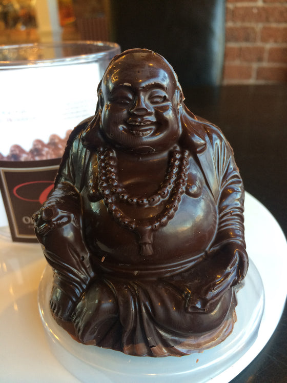 Woodstock Chocolate Buddha - Vegan  Fairtrade  70% Solid Dark