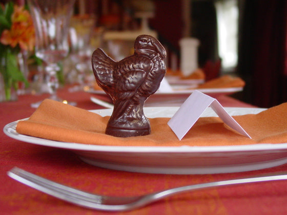 Chocolate Turkeys with Place Setting Card