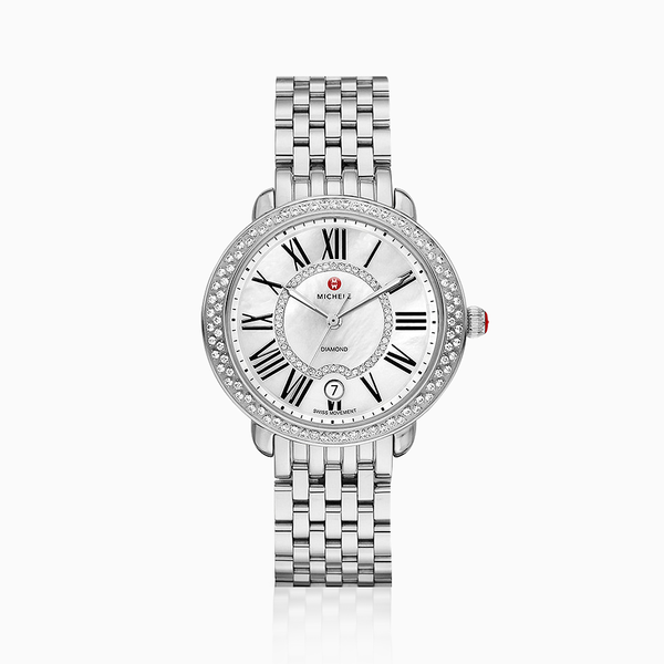 Michele Serein 16 Diamond Watch