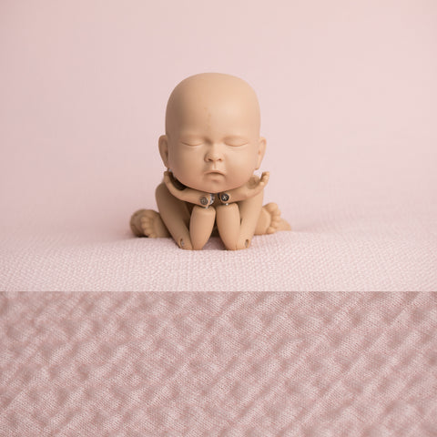 Fabric Backdrop - Riley - Pale Pink