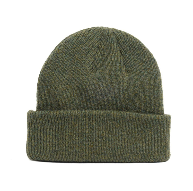 Merino Wool Beanie - Forest Green