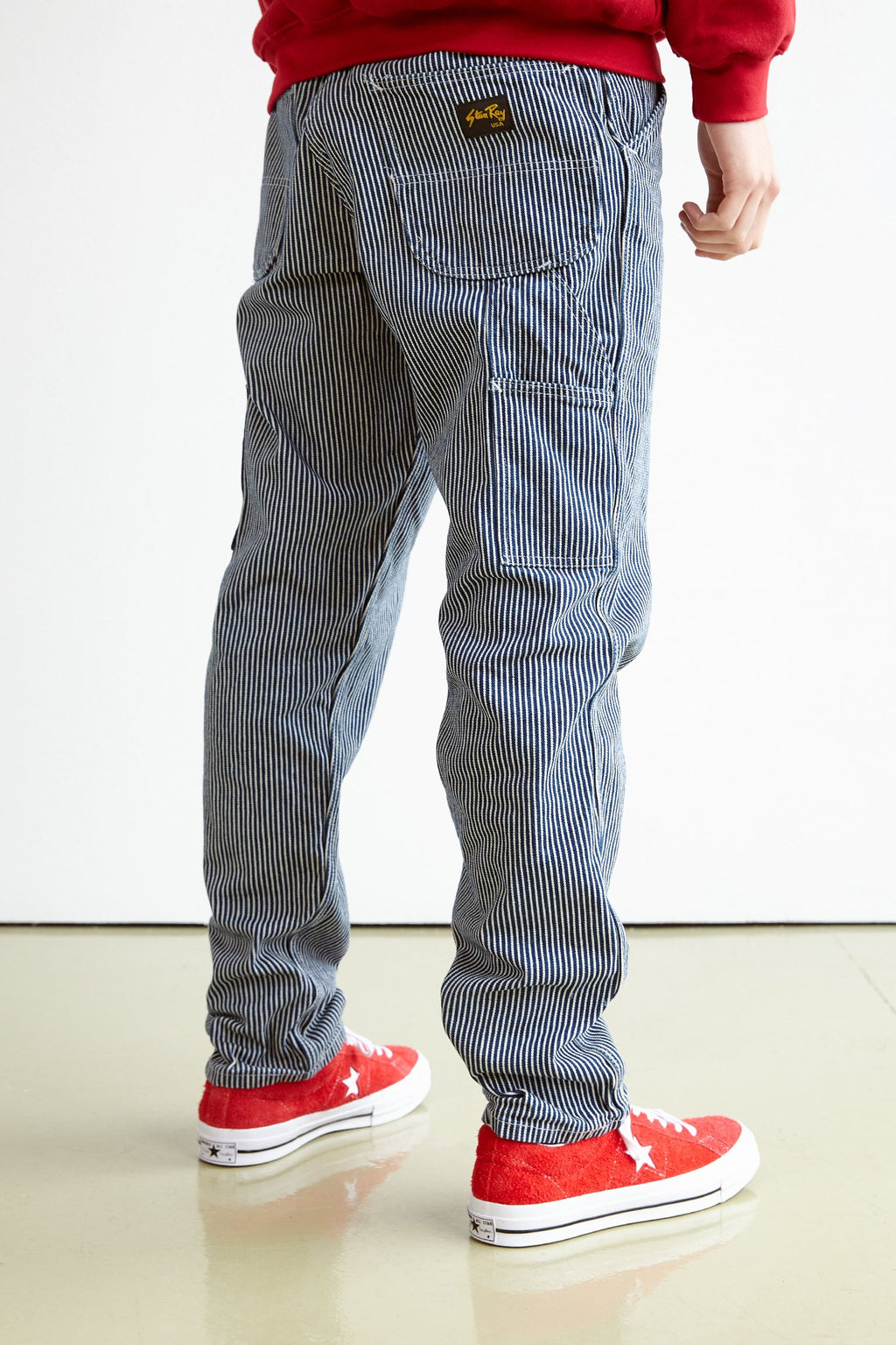 80's Painter Pant - Hickory Stripe