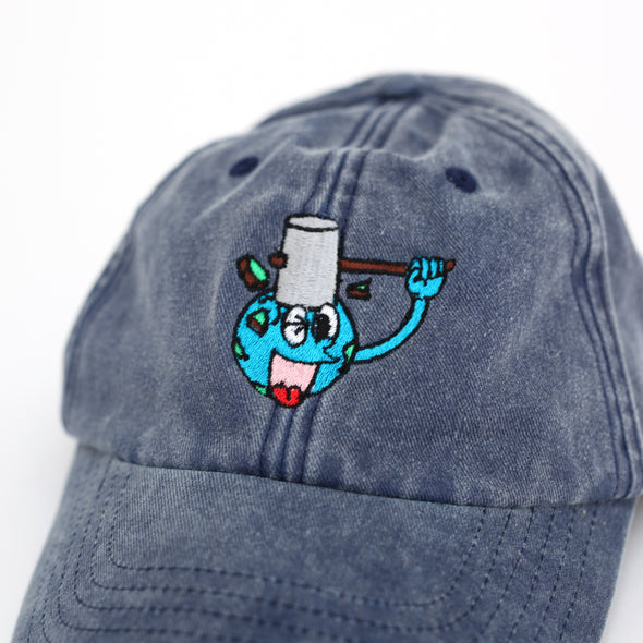 Dumbworld cap (Blue)
