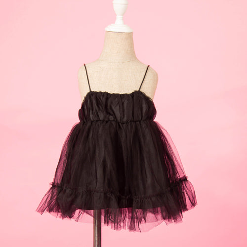 Liv Tulle Dress in Black