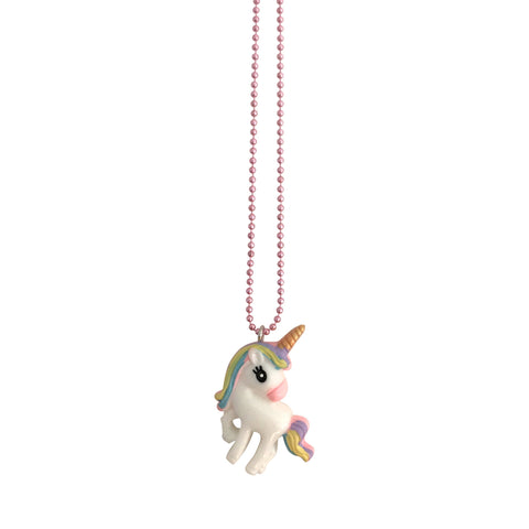 Pop Cutie Gacha Rainbow Unicorn Necklace