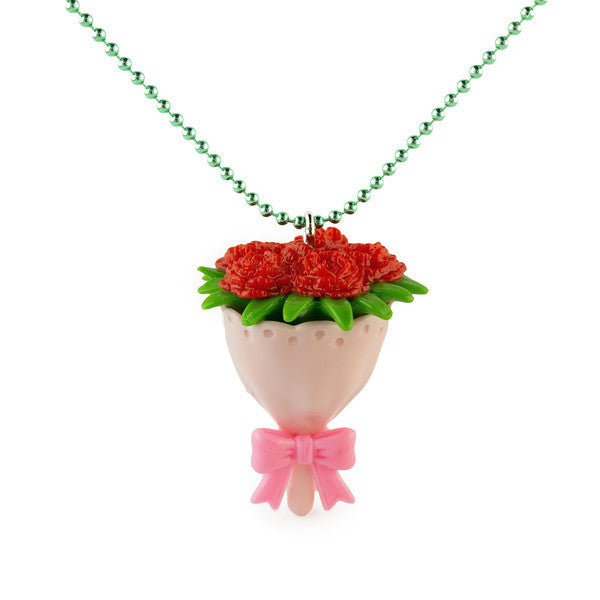 Pop Cutie x Iwako Rose Necklace