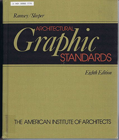 Architectural Graphic Standards, 8Th Edition