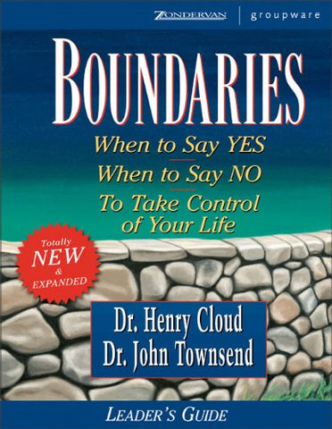 Boundaries Leader'S Guide