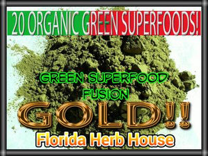 Green Superfood Fusion Gold - 20 Organic Superfoods