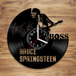 Bruce Springsteen Vinyl Record Wall Clock