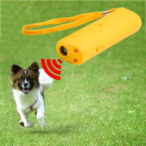 Anti Barking Stop Bark Dog Training Device Dog Training Repeller   3 in 1  (AE)