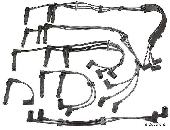 IGNITION WIRE SET TWIN PLUG - (1990-1994) PORSCHE 964 - 3.6L H6- ELEIGN96460905000