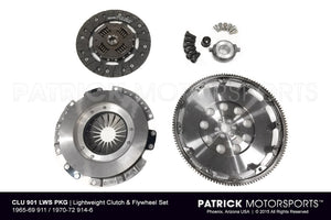LIGHTWEIGHT CLUTCH & FLYWHEEL SET - 1965-69 PORSCHE 911 / 1970-72 914-6- CLU901LWSPKG